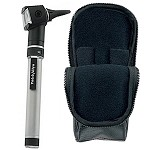 WELCH ALLYN POCKETSCOPE OTOSCOPE THROAT ILLUMINATOR WITH AA HANDLE & SOFT CASE 22821